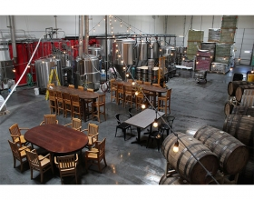 interior of Bad Beat Brewing