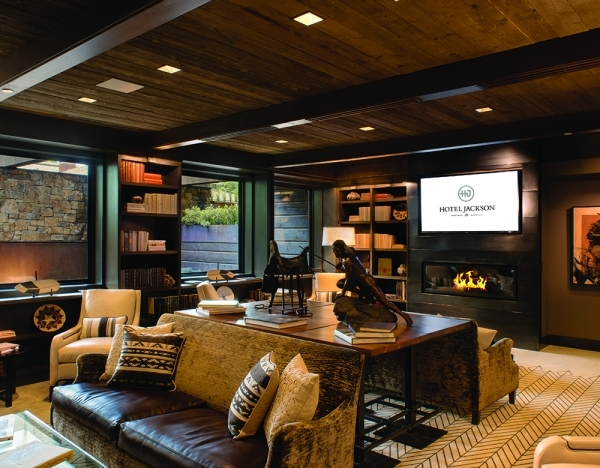 New luxury hotel for jackson hole national for Luxury hotel jackson hole